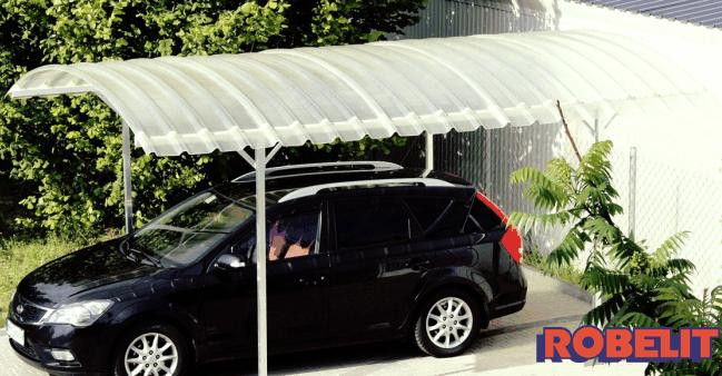 Zadaszenie samochodu