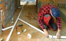 Rury i kształtki w instalacji centralnego odkurzania