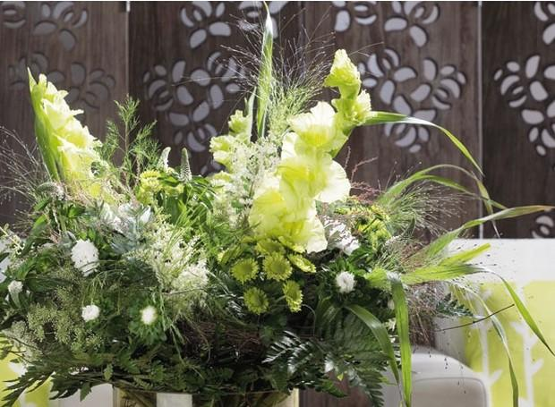 Kwiaty w salonie