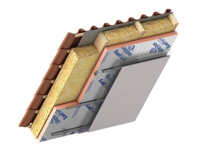 Izolacja dachu płytami KINGSPAN