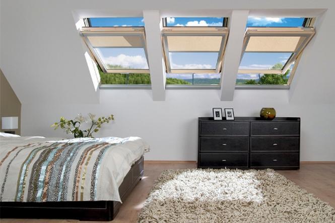 Wygodna sypialnia na poddaszu