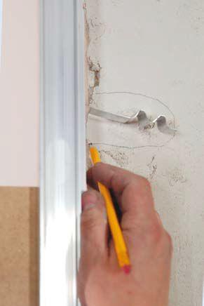 Montaż ościeżnicy w murze