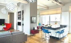 Jak urządzić salon połączony z kuchnią. Kuchnia, jadalnia i miejsce wypoczynku w jednym
