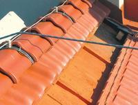 Instalacja odgromowa na dachu