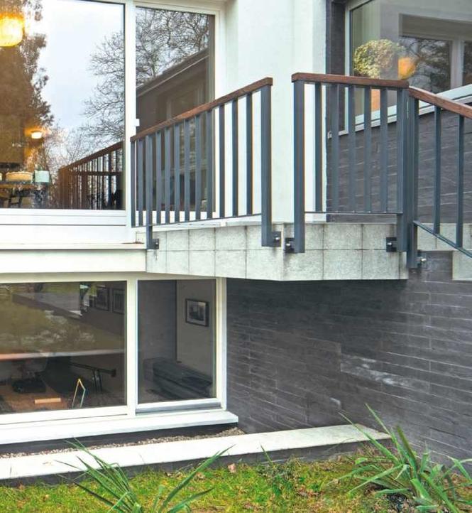 Balkon W Domu Jednorodzinnym: Remont Piwnicy W Domu Jednorodzinnym. Rozbudowa
