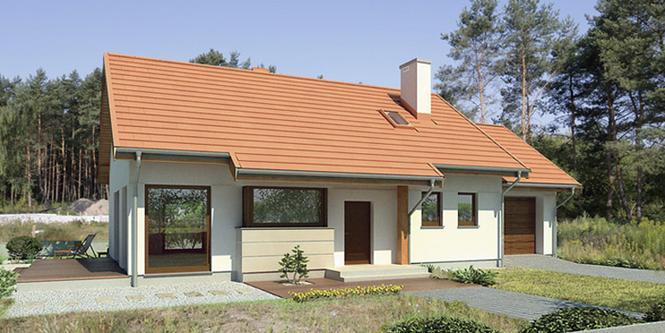 Projekt domu Szum morza - Murator M141