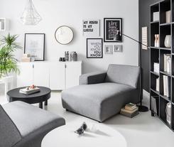 Personalizacja nowoczesnego wnętrza - system mebli do salonu