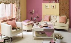 Aranżacja salonu: salon w stylu romantycznym