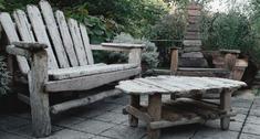 Meble ogrodowe z postarzanych desek: ZRÓB TO SAM. Jak zrobić meble ogrodowe drewniane